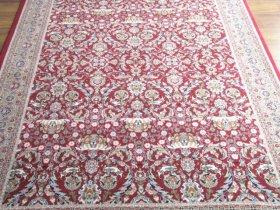 最高級ヘレケ絨毯 トルコ政府証明書付き 特別に織られたヘレケ絨毯 penceli