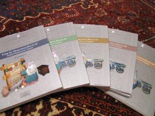 3セットのみ!トルコ文化観光省発行 Turkish Hand woven Carpets 1-5 巻セット