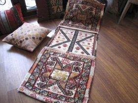 シヴリヒサル ヘイベ 素晴らしい色使いとジジム織り