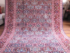 最高級ヘレケ絨毯 シュメル テブリーズ柄 約228x155cm