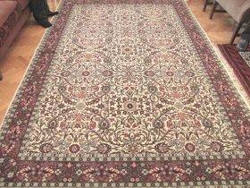 最高級ヘレケ絨毯 トルコ政府証明書付き 特別に織られたヘレケ絨毯 Lalezar