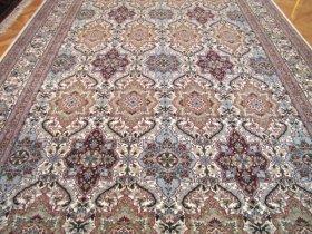 最高級ヘレケ絨毯 シュメル Ozel AltiSicil 286x201cm 5.75
