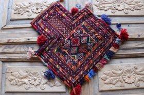 ソルトバッグ 手織りオールド塩袋 #13815