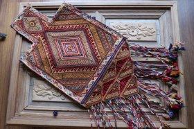 ソルトバッグ 手織りオールド塩袋 #13817