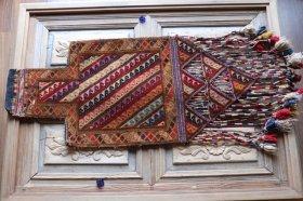 ソルトバッグ 手織りオールド塩袋 #13823