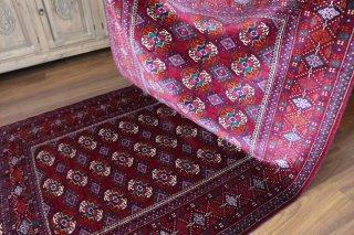 素晴らしいお色と柔らかさ セミアンティーク トルクメニスタン ブハラ