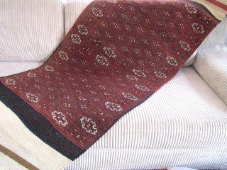 オールドキリム  バフティヤリ スマック織りランナー 200x66cm