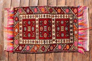 オールド絨毯 ヤストゥック 袋状 ユントダー コレクション  91x49cm