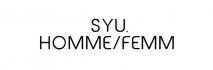 SYU.HOMME/FEMM
