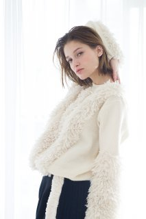 you ozeki fur mix knit pull over<img class='new_mark_img2' src='//img.shop-pro.jp/img/new/icons15.gif' style='border:none;display:inline;margin:0px;padding:0px;width:auto;' />