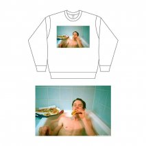 SYU.HOMME/FEMM×Ohno Toshio long sleeve tee (A loner Pizza)<img class='new_mark_img2' src='//img.shop-pro.jp/img/new/icons15.gif' style='border:none;display:inline;margin:0px;padding:0px;width:auto;' />