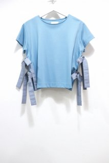 【20%OFF】RPKO サイドリボン Tシャツ(L.BLUE)<img class='new_mark_img2' src='https://img.shop-pro.jp/img/new/icons20.gif' style='border:none;display:inline;margin:0px;padding:0px;width:auto;' />