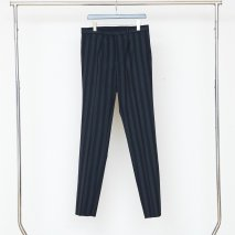 LITTLEBIG Stripe 1-Tuck Tight Trousers