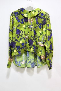 BELPER ORIGINAL PRINT BLOUSE(YEL)<img class='new_mark_img2' src='//img.shop-pro.jp/img/new/icons15.gif' style='border:none;display:inline;margin:0px;padding:0px;width:auto;' />