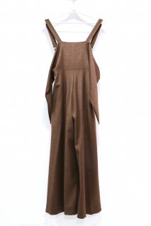 tiit tokyo  flare overall(Brown)