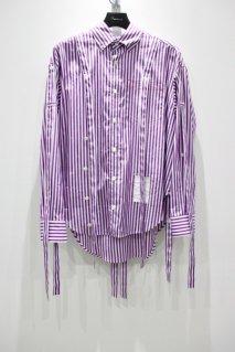 SYU.HOMME/FEMM  Fake suspender Shirts - PALETTE Exclusive(purple)