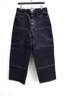 SUGARHILL  Double knee Denim pants(Rigid)