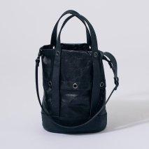 KAGARI YUSUKE 黒壁 フレコントートバッグ(受注品)