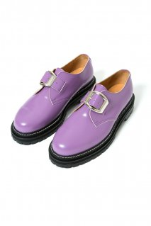 【10%OFF】soe  One Buckle Plain Toe Shoes(PURPLE)<img class='new_mark_img2' src='https://img.shop-pro.jp/img/new/icons20.gif' style='border:none;display:inline;margin:0px;padding:0px;width:auto;' />
