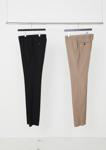 【30%OFF】LITTLEBIG Slim Trousers(BLACK or BEIGE)<img class='new_mark_img2' src='https://img.shop-pro.jp/img/new/icons20.gif' style='border:none;display:inline;margin:0px;padding:0px;width:auto;' />