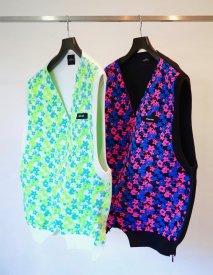 SYU.HOMME/FEMM  Flower knit vest