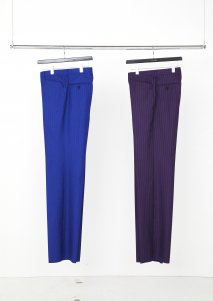 LITTLEBIG  Stripe Straight Trousers(BLUE)<img class='new_mark_img2' src='https://img.shop-pro.jp/img/new/icons15.gif' style='border:none;display:inline;margin:0px;padding:0px;width:auto;' />