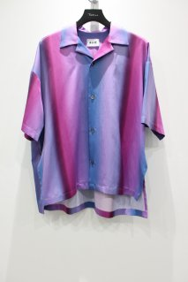 【30%OFF】KIIT  Gradation Stripe Shirt(PURPLE BLUE)<img class='new_mark_img2' src='https://img.shop-pro.jp/img/new/icons20.gif' style='border:none;display:inline;margin:0px;padding:0px;width:auto;' />