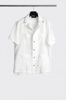 【20%OFF】[ー]Minus  CUBA SHIRT(WHT)<img class='new_mark_img2' src='https://img.shop-pro.jp/img/new/icons20.gif' style='border:none;display:inline;margin:0px;padding:0px;width:auto;' />