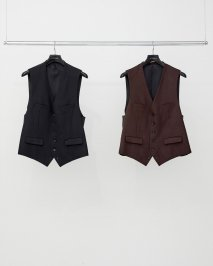 LITTLEBIG  Flannel Waistcoat<img class='new_mark_img2' src='https://img.shop-pro.jp/img/new/icons15.gif' style='border:none;display:inline;margin:0px;padding:0px;width:auto;' />