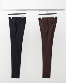 LITTLEBIG  Flannel Slim Trousers(BROWN)<img class='new_mark_img2' src='https://img.shop-pro.jp/img/new/icons15.gif' style='border:none;display:inline;margin:0px;padding:0px;width:auto;' />