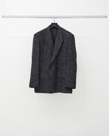 LITTLEBIG  Splashed Check Double Jacket(8月〜9月入荷予定予約品)<img class='new_mark_img2' src='https://img.shop-pro.jp/img/new/icons15.gif' style='border:none;display:inline;margin:0px;padding:0px;width:auto;' />