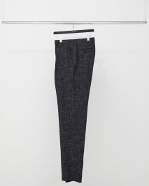 LITTLEBIG  Splashed Check Tucked Trousers(8月〜9月入荷予定予約品)<img class='new_mark_img2' src='https://img.shop-pro.jp/img/new/icons15.gif' style='border:none;display:inline;margin:0px;padding:0px;width:auto;' />