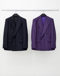 LITTLEBIG  Chalk Stripe Double Jacket(8月〜9月入荷予定予約品)<img class='new_mark_img2' src='https://img.shop-pro.jp/img/new/icons15.gif' style='border:none;display:inline;margin:0px;padding:0px;width:auto;' />
