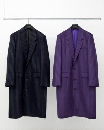 LITTLEBIG  Chalk Stripe Chester Field Coat(8月〜9月入荷予定予約品)<img class='new_mark_img2' src='https://img.shop-pro.jp/img/new/icons15.gif' style='border:none;display:inline;margin:0px;padding:0px;width:auto;' />