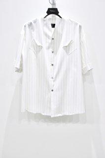 KONYA  Mercer Stripe Shirt(WHITE)<img class='new_mark_img2' src='https://img.shop-pro.jp/img/new/icons15.gif' style='border:none;display:inline;margin:0px;padding:0px;width:auto;' />