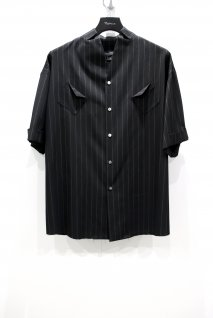 KONYA  Mercer Stripe Shirt(BLACK)<img class='new_mark_img2' src='https://img.shop-pro.jp/img/new/icons15.gif' style='border:none;display:inline;margin:0px;padding:0px;width:auto;' />
