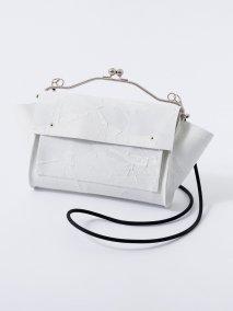 KAGARI YUSUKE 白壁 何かのパーツ ショルダーポーチ ※9月入荷予定予約品