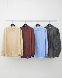 LITTLEBIG  Striped Satin SH(Brown or Saxe)<img class='new_mark_img2' src='https://img.shop-pro.jp/img/new/icons15.gif' style='border:none;display:inline;margin:0px;padding:0px;width:auto;' />