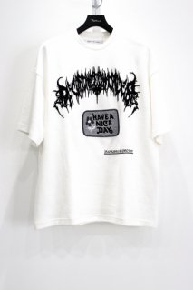 Children of the discordance  OVERSIZED EMBROIDERY TEE(WHT)<img class='new_mark_img2' src='https://img.shop-pro.jp/img/new/icons15.gif' style='border:none;display:inline;margin:0px;padding:0px;width:auto;' />