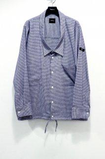 SYU.HOMME/FEMM  Over neck Shirts Jacket(PURPLE)<img class='new_mark_img2' src='https://img.shop-pro.jp/img/new/icons15.gif' style='border:none;display:inline;margin:0px;padding:0px;width:auto;' />
