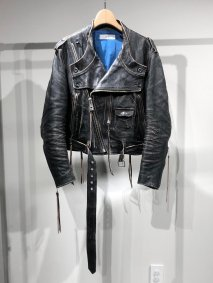 SUGARHILL  CRUSHED LEATHER MOTORCYCLE JACKET<img class='new_mark_img2' src='https://img.shop-pro.jp/img/new/icons15.gif' style='border:none;display:inline;margin:0px;padding:0px;width:auto;' />