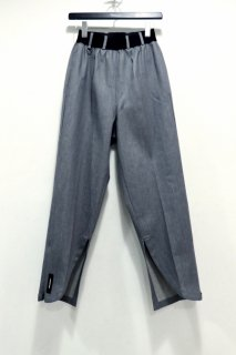 SYU.HOMME/FEMM  Front slit Pants(gray denim)<img class='new_mark_img2' src='https://img.shop-pro.jp/img/new/icons15.gif' style='border:none;display:inline;margin:0px;padding:0px;width:auto;' />