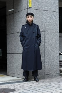 【20%OFF】soe  Belted Trench Coat(NAVY)<img class='new_mark_img2' src='https://img.shop-pro.jp/img/new/icons20.gif' style='border:none;display:inline;margin:0px;padding:0px;width:auto;' />
