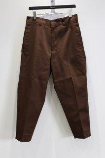 SHINYAKOZUKA  WORK TROUSERS WITH DICKIES(CHOCO)<img class='new_mark_img2' src='https://img.shop-pro.jp/img/new/icons15.gif' style='border:none;display:inline;margin:0px;padding:0px;width:auto;' />