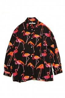 soe  L/S Flamingo Shirt<img class='new_mark_img2' src='https://img.shop-pro.jp/img/new/icons15.gif' style='border:none;display:inline;margin:0px;padding:0px;width:auto;' />