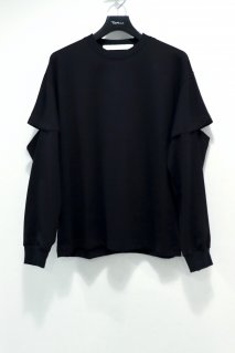 soe  Cut-Sleeve L/S Shirts(BLACK)<img class='new_mark_img2' src='https://img.shop-pro.jp/img/new/icons15.gif' style='border:none;display:inline;margin:0px;padding:0px;width:auto;' />