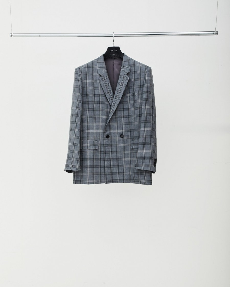 LITTLEBIG  Check Semi-Double Jacket<img class='new_mark_img2' src='https://img.shop-pro.jp/img/new/icons15.gif' style='border:none;display:inline;margin:0px;padding:0px;width:auto;' />
