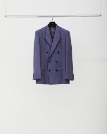 LITTLEBIG  Purple 6B Double Breasted Jacket<img class='new_mark_img2' src='https://img.shop-pro.jp/img/new/icons15.gif' style='border:none;display:inline;margin:0px;padding:0px;width:auto;' />