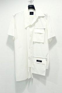 SYU.HOMME/FEMM  Change short sleeve shirts(WHITE)<img class='new_mark_img2' src='https://img.shop-pro.jp/img/new/icons15.gif' style='border:none;display:inline;margin:0px;padding:0px;width:auto;' />