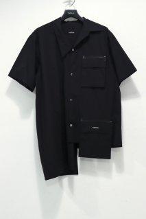 SYU.HOMME/FEMM  Change short sleeve shirts(BLACK)<img class='new_mark_img2' src='https://img.shop-pro.jp/img/new/icons15.gif' style='border:none;display:inline;margin:0px;padding:0px;width:auto;' />